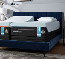 A Split-King  Tempur-pedic Mattress