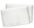 Two Tempur-Cloud pillows arranged together