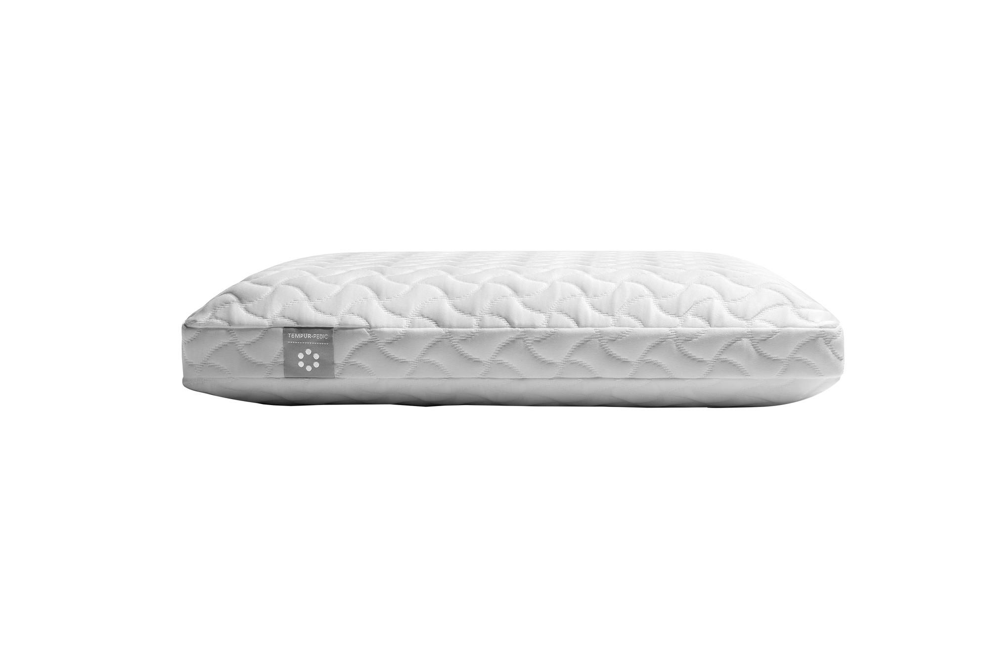 A tempur-cloud pillow showing the profile