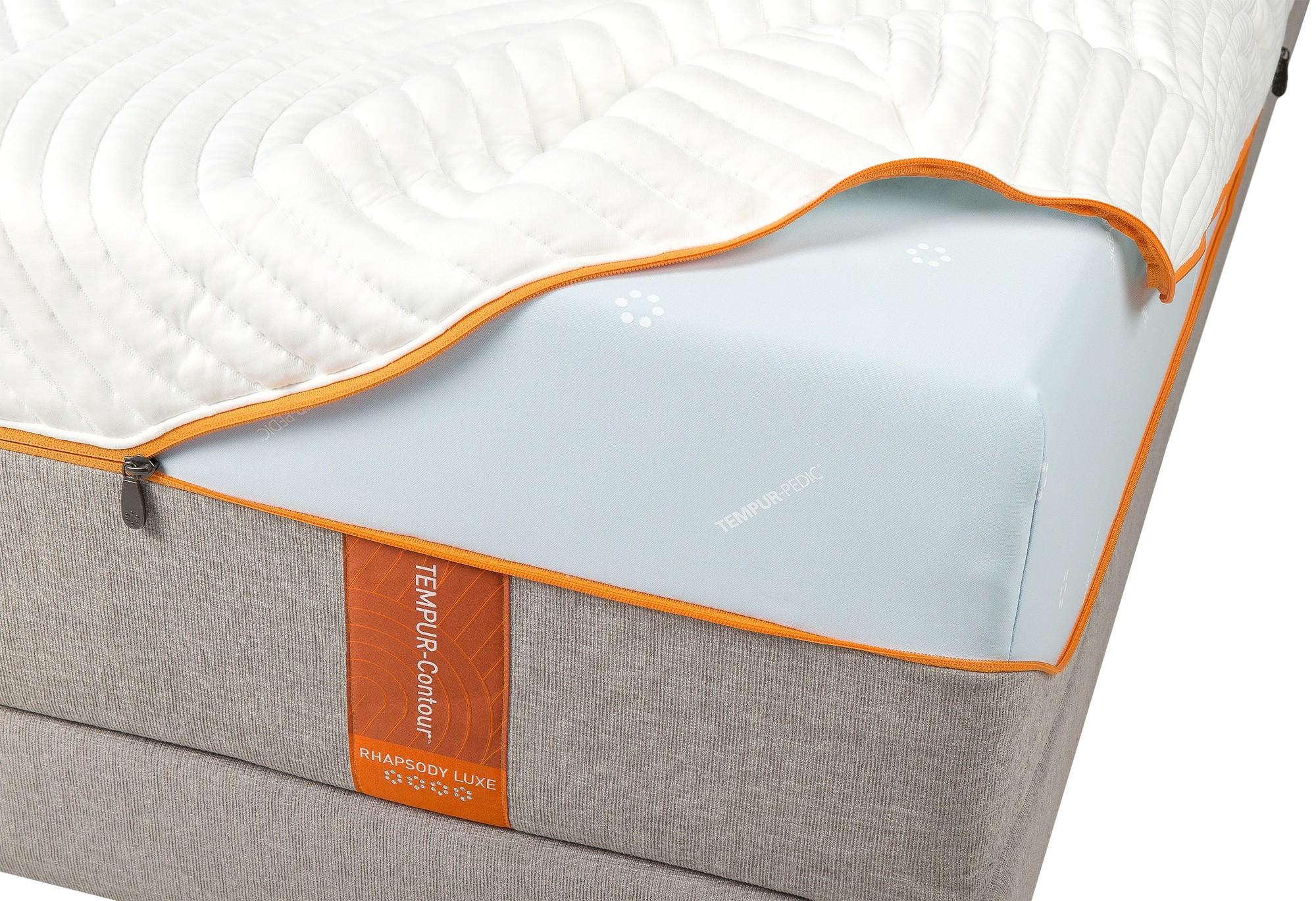 A Tempur Contour Elite mattress cover