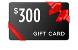 $300 Gift Card image with red bow