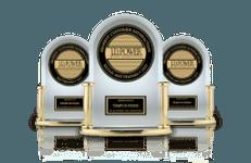 Three JD Powers Trophies