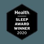 Health Sleep Award Winner 2020 badge