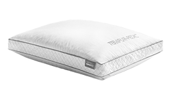 A tempur-pedic precise support pillow