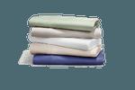 A stack of Tempur-Pedic sheets