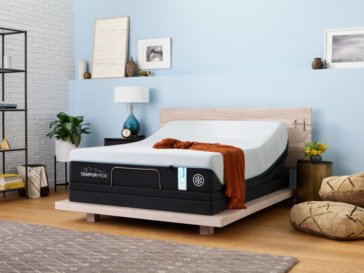 breeze mattress in a styled room