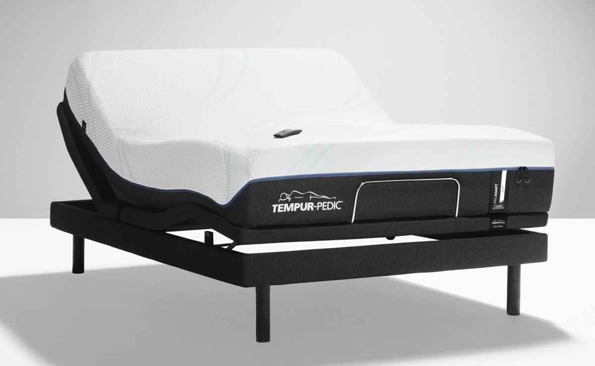 ProAdapt Soft Mattress on an Adjustable Base