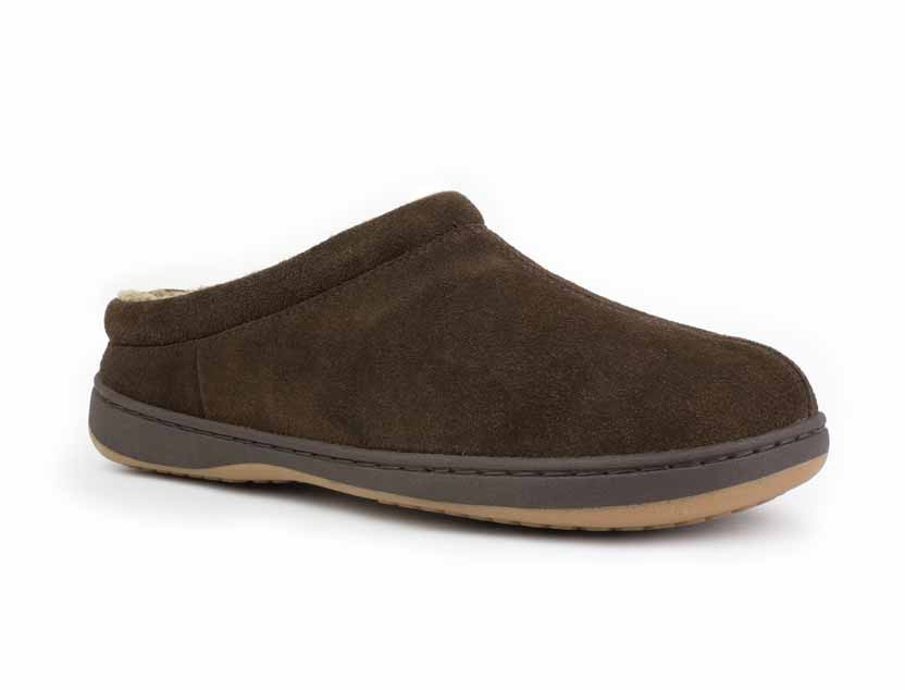 Men's Suede Accent Clog