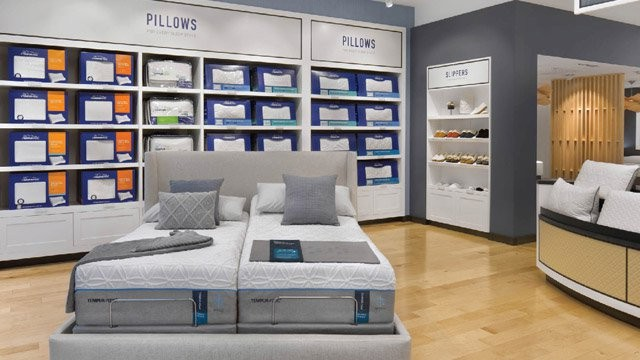 Tempur-Pedic® Pillow and Slipper Walls