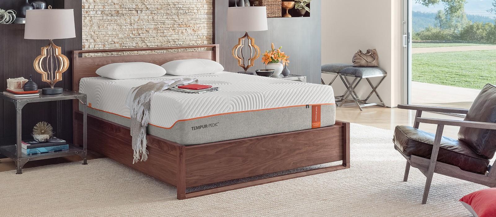 tempur contour rhapsody luxe mattress tempur pedic - Tempur Pedic Bed Frames